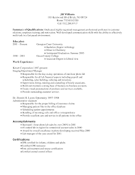 Cover Letter Housekeeping Resume Format Housekeeping Resume Format