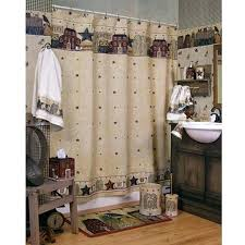 palm tree bathroom set shower curtain target daisy decor cabin for better homes and gardens words