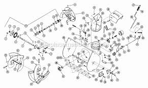 ariens 910016 parts list and diagram (000101) ereplacementparts com troy bilt snow blower engine diagram Snow Blower Engine Diagram #19