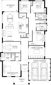narrow block house plans wa arts small 2 story lot home designs classic home plans
