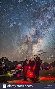 Observers At The 2017 Ozsky Star Party In Australia Check