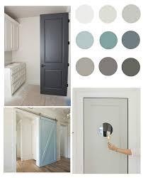 pretty interior door paint colors to