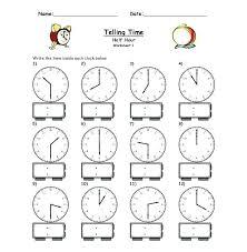 Clock Face Worksheets Printable Zain Clean Com