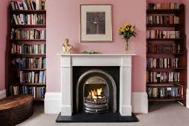 the old cinema flat victorian marble fireplace