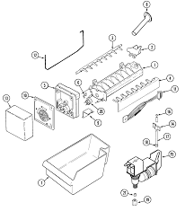 Maytag refrigerators ice maker parts diagram collection of wiring m0110014 00009 maytag refrigerators ice maker parts