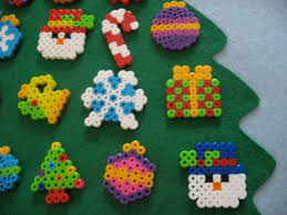 DIY Christmas Ornaments Hama Perler Bead Pattern Or Cross Stitch Perler Beads Christmas Tree