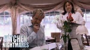 The Secret Garden Restaurant Kitchen Nightmares Gordon Feels Sorry For Bread Roll Kitchen Nightmares Youtube