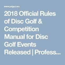 Innova Discs Chart Inspirational 2018 Ficial Rules Of Disc
