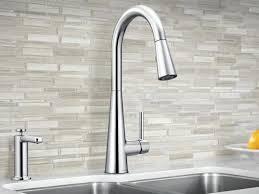 Fancy Pulldown Kitchen Faucet Sleek Kitchen Faucet Spring Pull