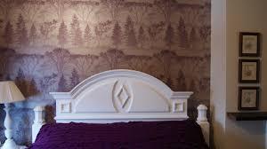 Purple Wallpaper For Bedroom Trololo Blogg Wallpaper A Room Video