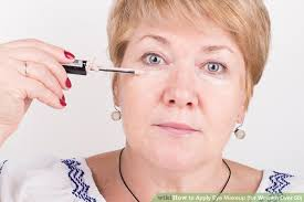 image led apply eye makeup for women over 50 step 13
