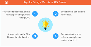 apa format website citation how to cite a website using apa updated for 2017