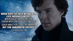 Sherlock Quotes Cool Can Samarra Be Avoided Scattered Quotes