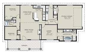 Delightful Floor Plans For A 4 Bedroom 2 Bath House Images Including Stunning Bathroom  Bedrooms 2018