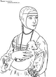 Small Picture Free Art History Coloring Pages Mona lisa Printing and Art history