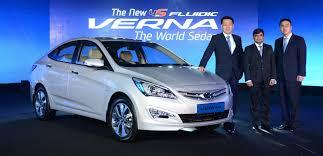new car launches eventsPhoto Gallery 4S Fluidic Verna  HYUNDAI MOTOR INDIA  NEW