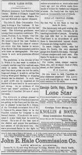 John E Hale, Stock yards; Myrtle Hale stenographer - Newspapers.com