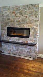25 best ideas about electric fireplace with mantel on fireplace modern brick design