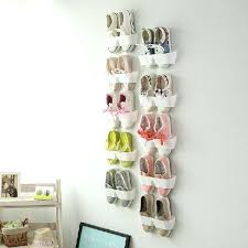 wall mount shoe rack wall hanging shoe rack hanging shoe organizer shoe rack on the wall