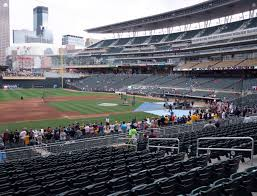 Twins Stadium Seating Chart Target Field Section 121 Seat Views Seatgeek