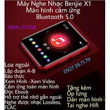 CÓ SẴN) Máy Nghe Nhạc Benjie X1 Lossless, Bản 2021 Bluetooh 5.0-Loa  Ngoài-Tặng Kèm Ốp Lưng, Tai Nghe Hifi, Dán Màn Hình