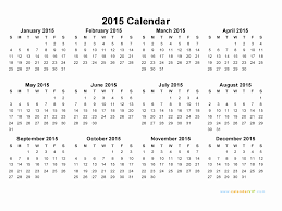 Monthly Blank Calendar 2015 Printable 2015 Monthly Calendar Of Printable Month Calendar