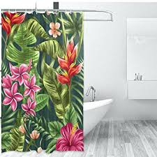 hawaiian shower curtain projects ideas shower curtain com tropical theme home decor set by hawaiian shower curtain and accessories