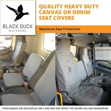 black duck seat covers suitable for 2017 mitsubishi canter