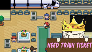How To Get A Train Ticket In Pokemon Light Platinum Pokemon Light Platinum Part 3 Central City