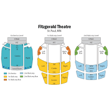 Fitzgerald Theater St Paul Tickets Schedule Seating