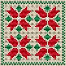 Free Cross Stitch Charts For Beginners Biscornu Cross Stitch Pattern