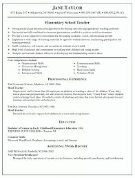 Resume Sample For Nursery Teachers In India Inspirational