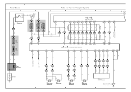 toyota radio wiring diagram wiring diagram and schematic design toyota corolla radio wiring diagram power cable siinoo