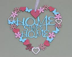 Small Picture Home Sweet Home Wall Hanging KaleidoscopeKrafts