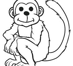 Free Printable Monkey Coloring Pages Coloring Pages Monkey Monkey