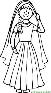 Girls Coloring Page
