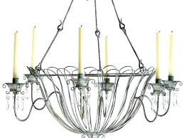 full size of home improvement iron candle chandelier non electric wrought intended for chande uk black