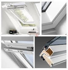 Velux Dachfenster Ggu 0070 Thermo Schwingfenster Aus Kunststoff 2