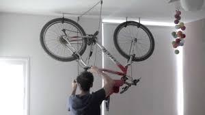 bike rack one minute garage storage diy