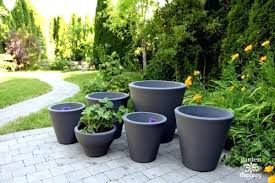 crescent garden planters. Crescent Garden Planters Patio Pots For A Fruit Where .