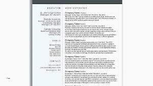 Cv Resume Template Microsoft Word Creative Design Templates Free