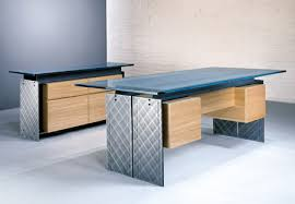 contemporary glass office desk. contemporary executive desk and credenza with steel ibeams a stone or glass top office