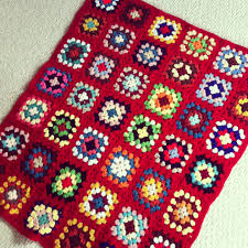 Vintage Finds- Granny Square Crochet Afghans - Hello Creative Family & Red Granny Square Afghan Adamdwight.com