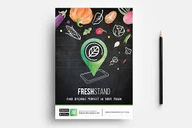 Free Organic Market Flyer Template Psd Ai Vector