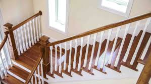 Image White How To Refinish Indoor Stair Railings Angies List How To Refinish Indoor Stair Railings Angies List