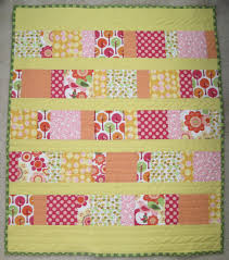 Finished: Charm Squares Baby Quilt – Nat's Distractions & My ... Adamdwight.com