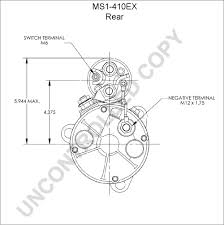 Ms1 410ex rear dim drawing