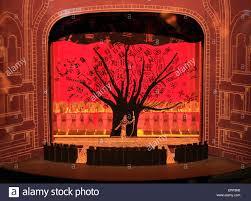Lion King Stage Design Stage Set Design Model On Display At The Inside The Lion