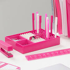 trendy modern desk accessories australia poppin pink desktop accessories modern office supplies canada