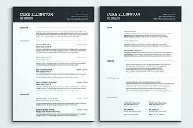 One Page Resume Template Custom Iwork Resume Templates Pages Free Creative One Page Template Word